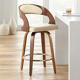 Enjoyable Barstools Quality Bar Counter Height Stools Lamps Plus Short Links Chair Design For Home Short Linksinfo