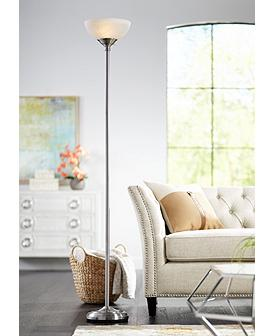 Silver, Floor Lamps | Lamps Plus