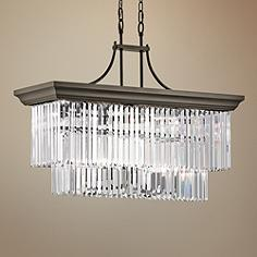 light distressed chandeliers kichler shop carlotta williamsburg and pd in chandelier black wood candle
