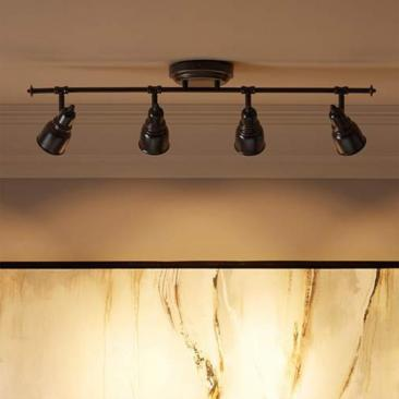 Pro Track® Denise 4-Light Bronze LED Track Fixture