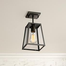 Bronze Flush Mount Outdoor Lighting Lamps Plus