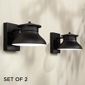 Black Dark Sky Barn Light Outdoor Lighting Lamps Plus