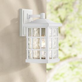 White Ivory Outdoor Lighting Lamps Plus