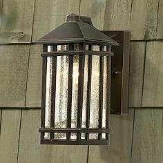 10 in high or less kathy ireland outdoor lighting lamps plus j du j sierra craftsman 10 high outdoor wall light audiocablefo