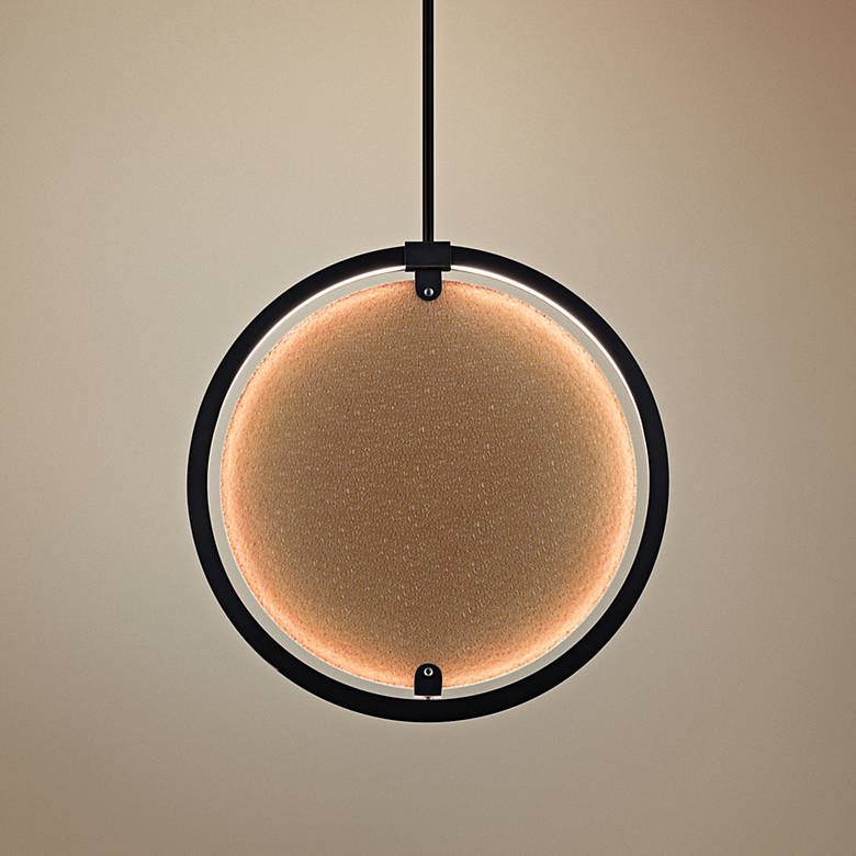 "Elan Core 20 1/4"" Wide Bronze LED Pendant Light"
