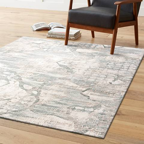 Kas Crete 6514 Ivory and Mist Area Rug