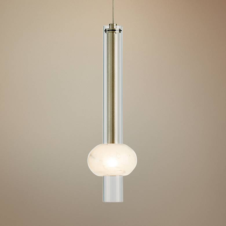"Hubbardton Forge Martini 4"" Wide Soft Gold Mini Pendant"