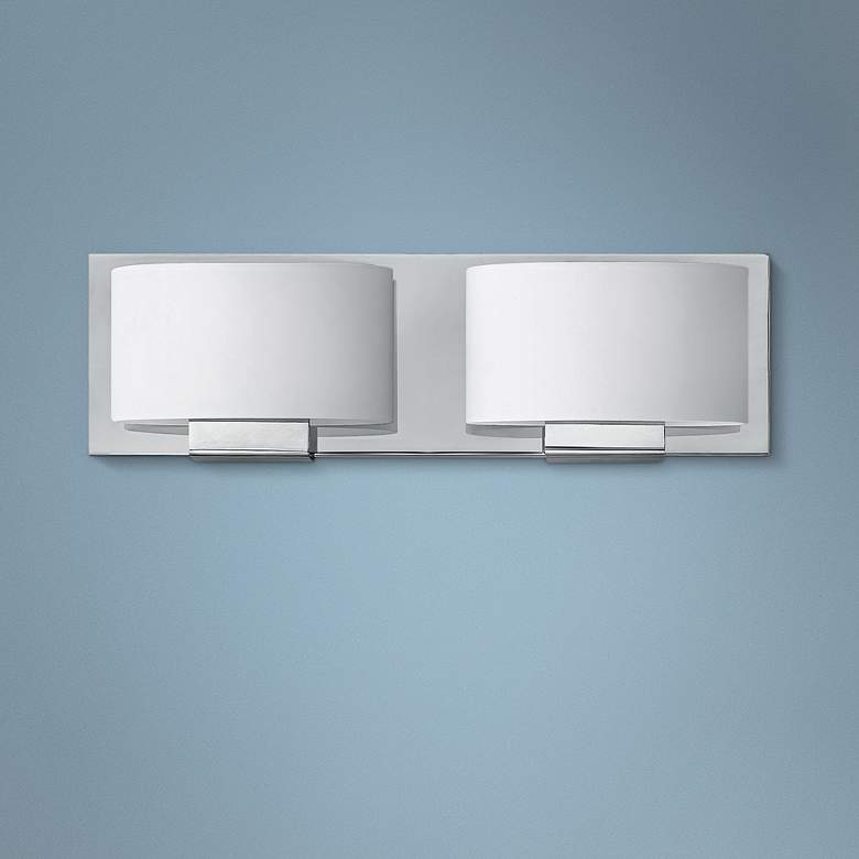 "Hinkley Mila 5"" High Chrome 2-Light LED Wall"