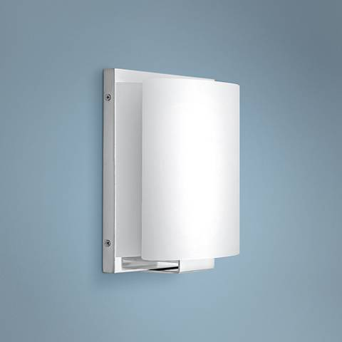 "Hinkley Mila 10"" High Chrome LED Wall Sconce"