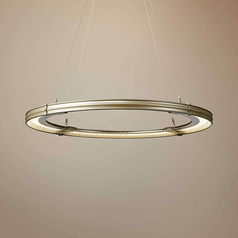 Synchronicity Aria 34 1 4 W Soft Gold Led Pendant Light