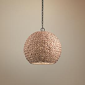 newest 1a10f c6ebc Tropical, Pendant Lighting | Lamps Plus