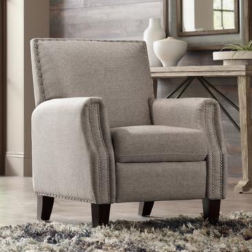 Romeo Heirloom Gray 3-Way Recliner Chair