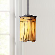 Arts and crafts mission pendant lighting lamps plus sedona collection 4 mozeypictures Images