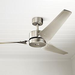 "60"" Kichler Motu™ Brushed Nickel Ceiling Fan"