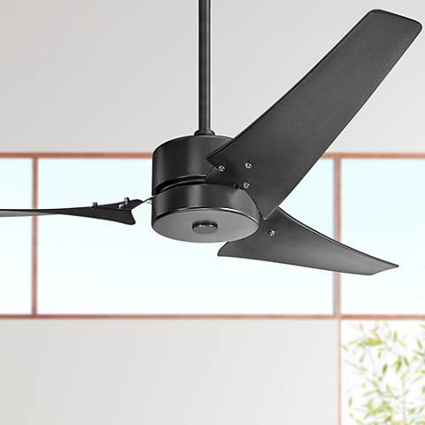 "60"" Kichler Motu™ Satin Black Ceiling Fan"