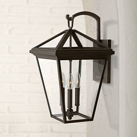 "Alford Place 20 1/2""H Oil Rubbed Bronze Outdoor Wall Light"