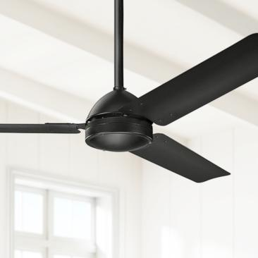 "56"" Kichler Todo™ Satin Black Ceiling Fan"