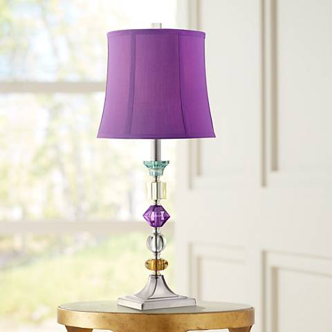 Purple Bijoux Table Lamp 22124 Lamps Plus