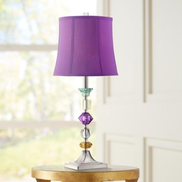 Purple Bijoux Table Lamp