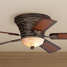 Traditional hugger flush mount ceiling fans lamps plus 52 mozeypictures Image collections