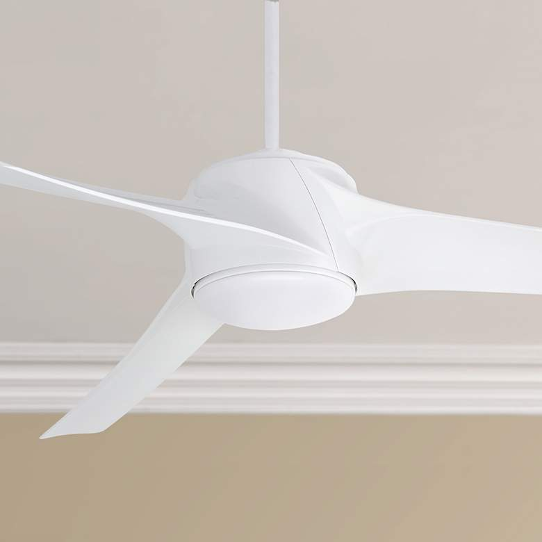"60"" Emerson Luray Eco Appliance White LED Ceiling Fan"