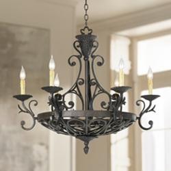 "Kathy Ireland 32 1/2"" Wide La Romantica Chandelier"