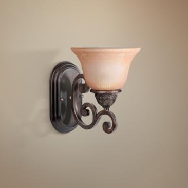 Symphony Oil Rubbed Bronze Finish Wall Sconce