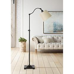 Pampano Oil Rubbed Bronze Adjustable Downbridge Floor Lamp