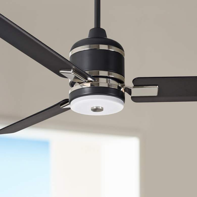 "54"" Emerson Ideal Barbeque Black LED Ceiling Fan"