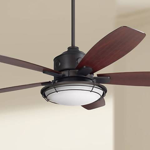 "54"" Emerson Rockpointe Oil Rubbed Bronze Ceiling Fan"