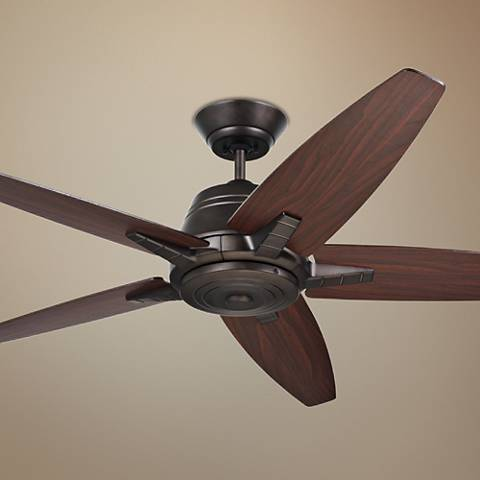 "56"" Emerson Euclid Oil-Rubbed Bronze Ceiling Fan"