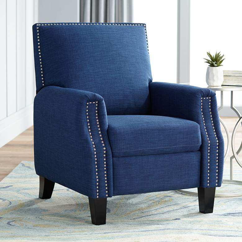 Romeo Heirloom Blue 3-Way Recliner Chair
