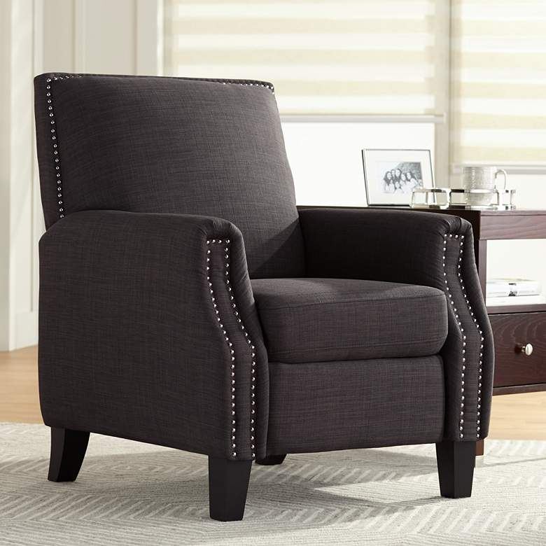 Romeo Heirloom Charcoal 3-Way Recliner Chair