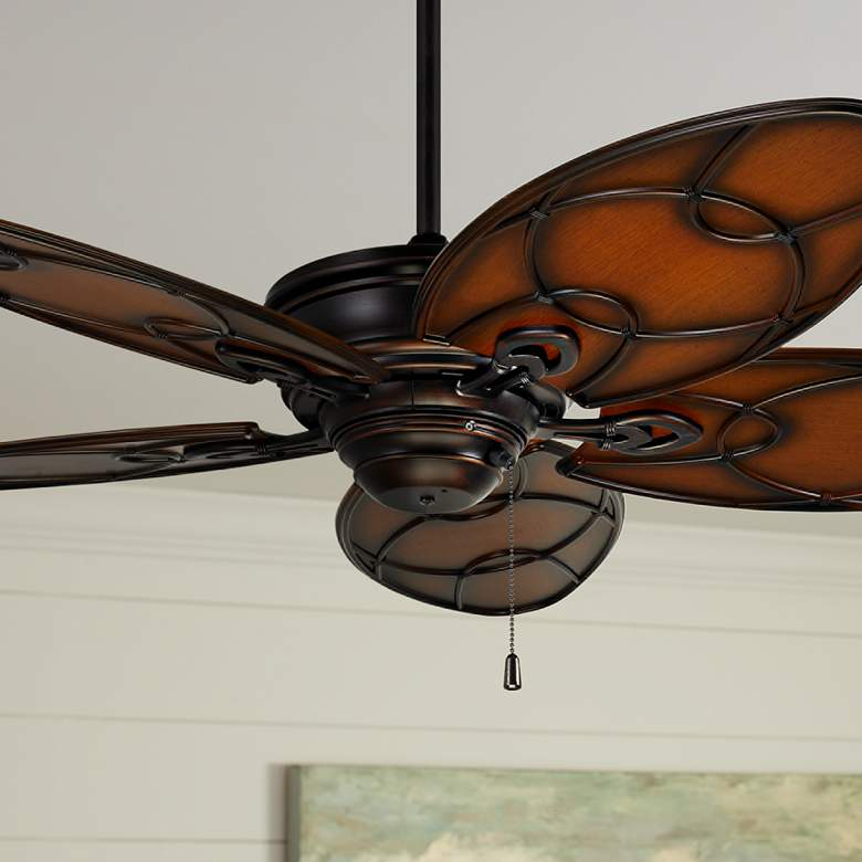 "54"" Emerson Kailua Cove Venetian Bronze Ceiling Fan"