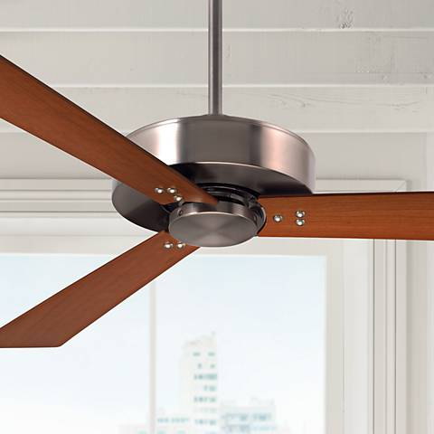 "52"" Emerson Keane Brushed Steel Ceiling Fan"