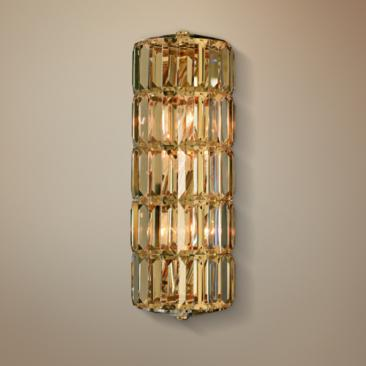 "Allegri Julien 17"" High Gold Wall Sconce"