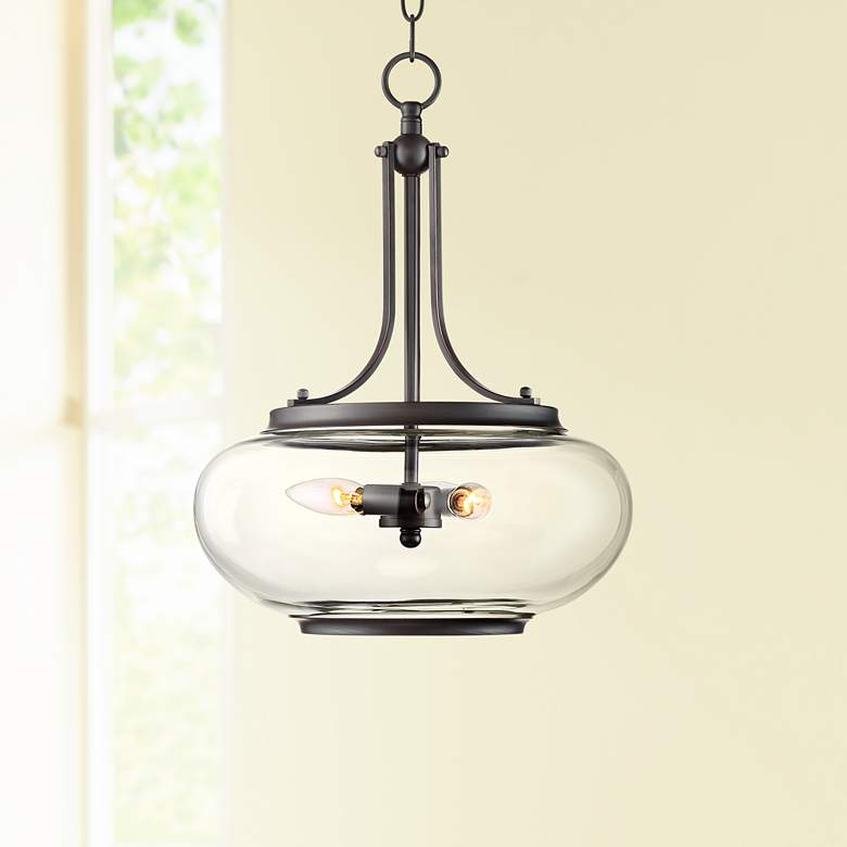 Largo 14 1 4 W Oil Rubbed Bronze 3 Light Pendant
