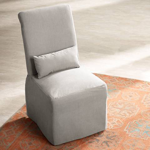 Naomi Petyon Slate Armless Dining Chair
