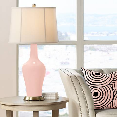 Rose Pink Anya Table Lamp