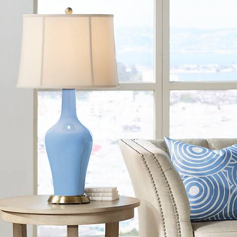 Placid Blue Anya Table Lamp