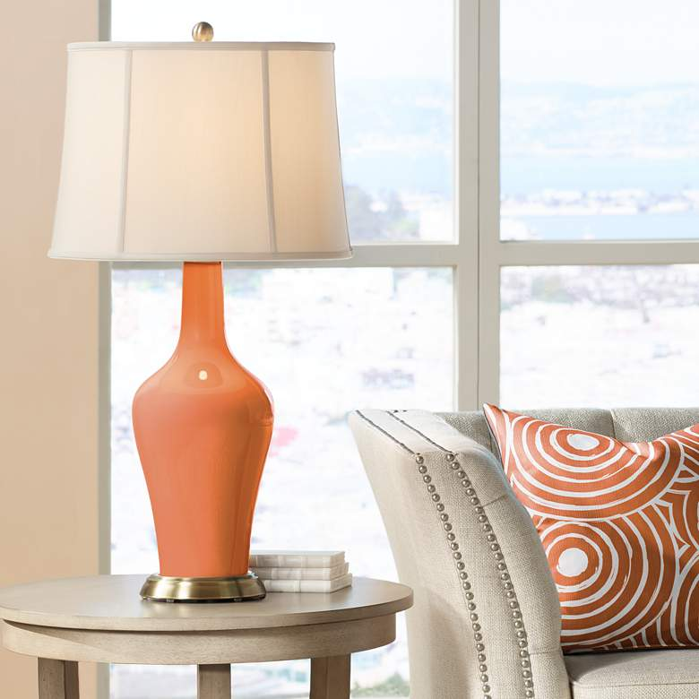 Celosia Orange Anya Table Lamp