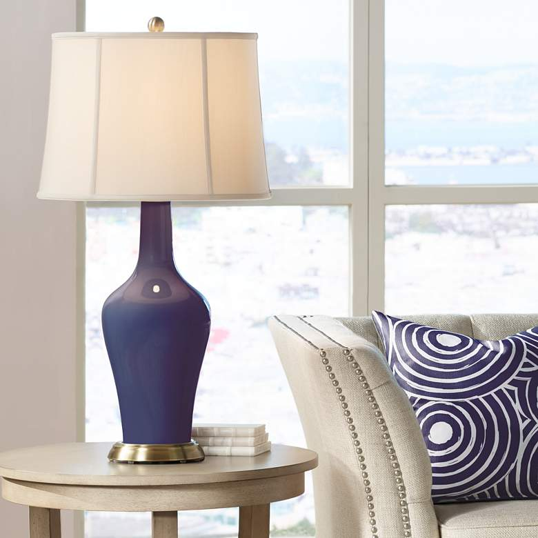 Quixotic Plum Anya Table Lamp