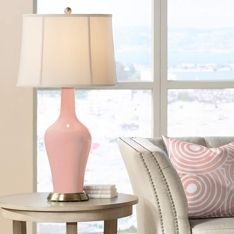 Mellow Coral Anya Table Lamp