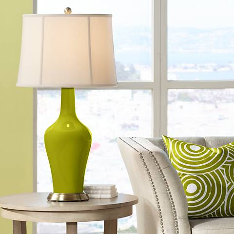 Olive Green Anya Table Lamp