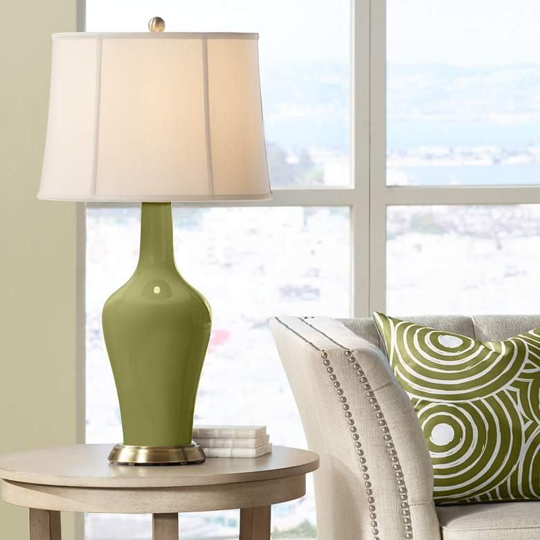 Rural Green Anya Table Lamp