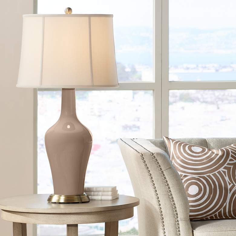 Mocha Anya Table Lamp