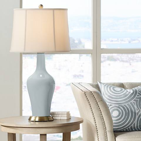 Uncertain Gray Anya Table Lamp