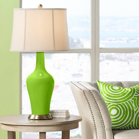 Neon Green Anya Table Lamp