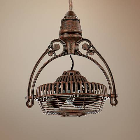 Fanimation old havana rust tilt adjust cage ceiling fan 26287 fanimation old havana rust tilt adjust cage ceiling fan aloadofball