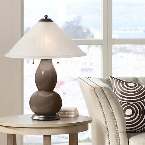 Carafe Fulton Table Lamp with Fluted Glass Shade